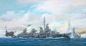 Revell 05150 - Fletcher Class Destroyer PLAT