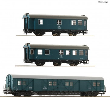 Roco 67198 - 3er Set Bauzug DB