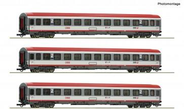 Roco 74132 - 3-tlg. Set Regionalexpress Innsbruck-Bozen, ÖBB