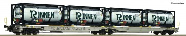 """Roco 76427 - Gelenktaschenwagen """"Rinnen"""", AAE"""