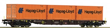"Roco 76930 - Containertragwagen ""Hapag Lloyd"", ÖBB"