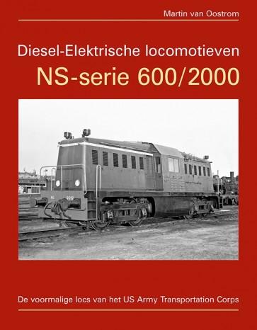 Uquilair 978-90-83003-32-0 - Diesel-Elektrische locomotieven NS-serie 600/2000