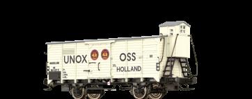 """Brawa 49063 - Gesloten goederenwagen G10 """"UNOX"""" van NS"""