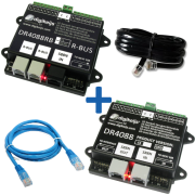 Digikeijs DR4088RB CS_BOX - Complete R-BUS (32 terugmeldpunten) set incl. DR4088RB-CS, DR4088CS, DR60890 en DR60881