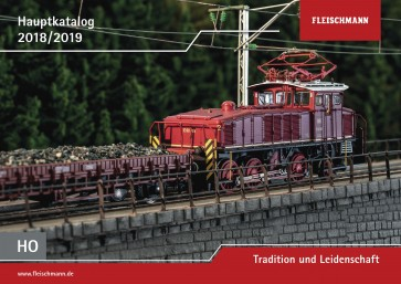 Fleischmann 990318 - Catalogus 2018/2019 H0-schaal
