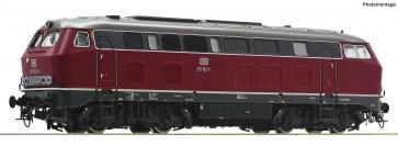 Roco 70752 - Diesellok BR 215 rot  Sound