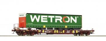 Roco 76232 - AAE-Draagwagen met Wetron-oplegger NL
