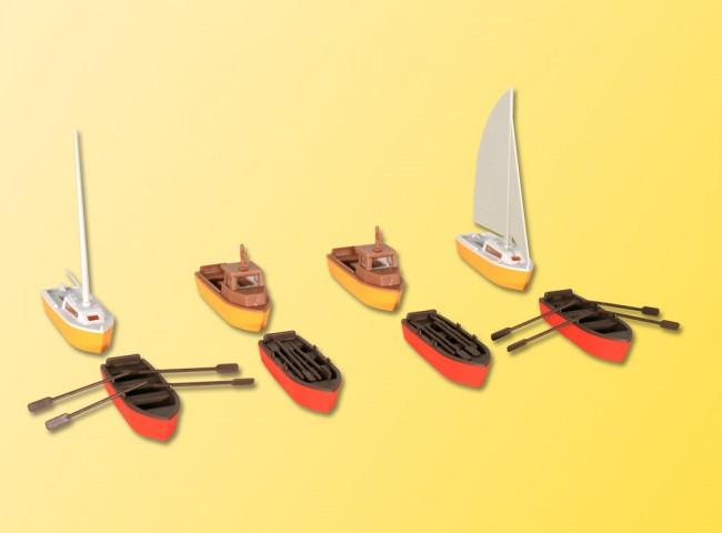 Kibri 39159 H0 Set Boote