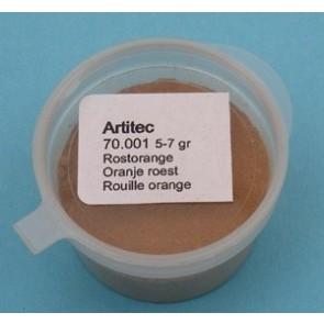 Artitec 70.001 - Oranje roest (modelbouwpoeder)  ---
