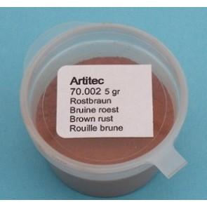 Artitec 70.002 - Bruine roest (modelbouwpoeder)  ---
