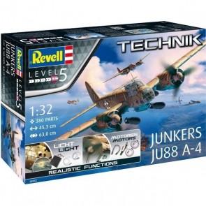 Revell 00452 - Junkers Ju88 A-4 - Technik