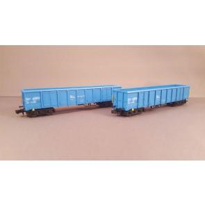 Hobbytrain H23419 - 2 goederenwagens Eanos Cronifer