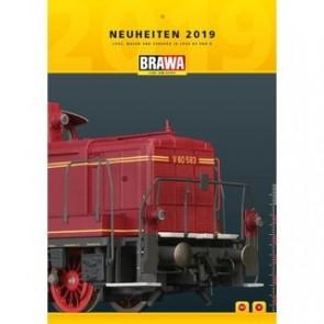 Brawa 0219 - BRAWA Neuheitenprospekt 2019, deutsch