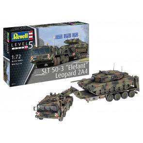"""Revell 03311 - SLT 50-3 """"Elefant"""" + Leopard 2A4"""