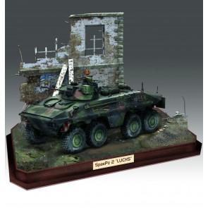 Revell 03321 - SpPz2 Luchs & 3D Puzzle Diorama