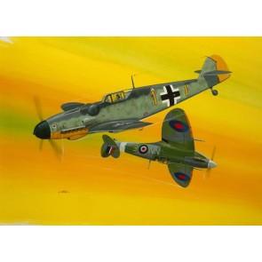 Revell 03710 - Combat Set Bf109G-10 & Spitfire