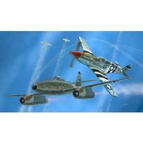 Revell 63711 - Model Set Combat Set Me262 & P-5