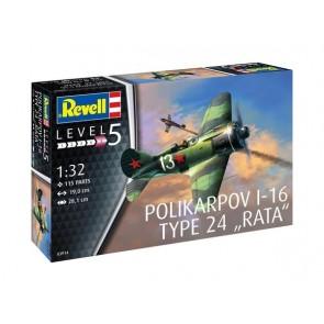 Revell 03914 - Polikarpov I-16 type 24 Rata