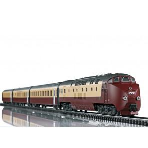 """Trix 22976 - Dieseltreinstel RAm TEE """"EDELWEISS"""" (voor insider leden)"""
