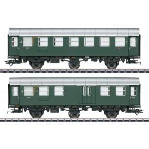 Marklin 43195 - Ombouwwagen 3e klas+ bagage, DB