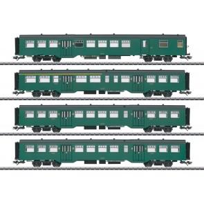 Marklin 43546 - Personenwagen-Set M2 SNCB.  NOG 10 RESERVEERBAAR!