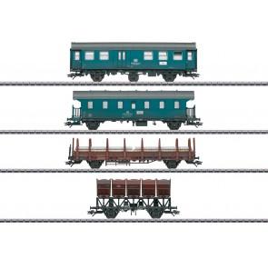Marklin 46690 - 4-delige werktreinwagenset, DB