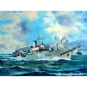 Revell 05158 - Flower Class Corvette HMS BUTTER