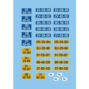 Artitec 10.369 - DAF Kantelcabine Nummerborden