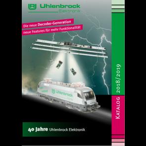 Uhlenbrock 2018 - Catalogus 2018/2019
