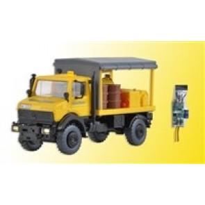 Kibri 10770 - H0 UNIMOG Abschmierfahrzeug
