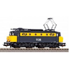 Piko 51371 - ~E-Lok/Sound Rh 1100 NS gelb-grau IV + PluX22 Dec.