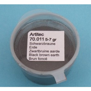 Artitec 70.011 - Zwartbruine aarde (modelbouwpoeder)  ---