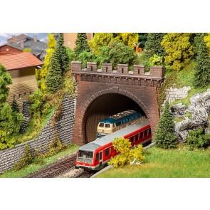 Faller 120570 - 2 Tunnelportalen, 2-sporig