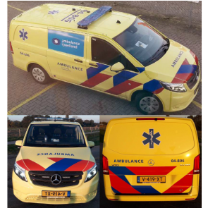 Busch 511141 - Mercedes-Benz Vito Ambulance NL