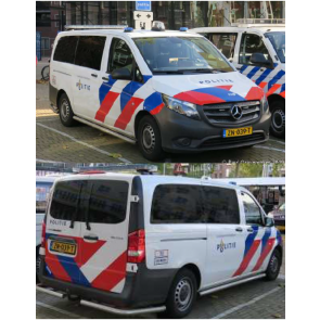 Busch 511142 - Mercedes-Benz Vito Politie NL