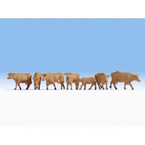 Noch 15727 - Kühe, braun