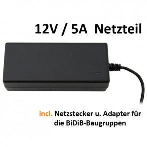 FichtelBahn 950100 - 12V Stecker/ Tischnetzteil