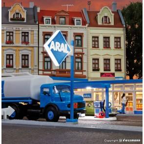 Viessmann 1376 - H0 Reklameschild ARAL LED