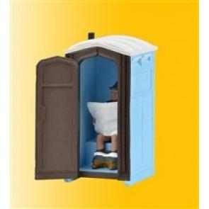 Viessmann 1545 - H0 Baustellen-Toilette, bew.