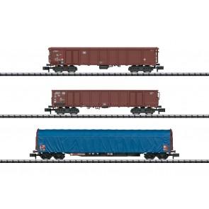 Trix 15869 - Wagen-Set Gütertransport Bund