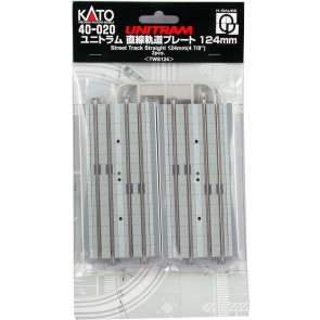 Kato 7078673 - Street Track Straight 124 mm 2 pcs OP=OP!