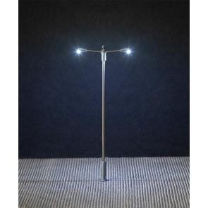Faller 180203 - LED-Straatverlichting, aanzetlamp, dubbele uithouder