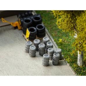 Faller 180971 - 10 Aluminium biervaten