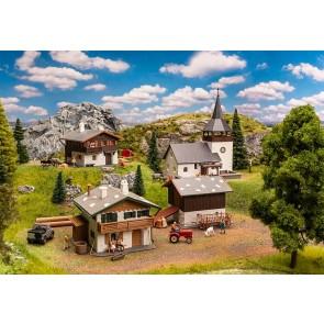 Faller 190075 - Actieset Zwitsers dorpje