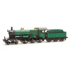 Artitec 22.220.02 - NS 3737 grasgroen 3-as tender (21-31), LokSound V4.0 GS  train 1:87