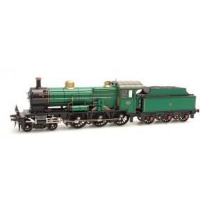 Artitec 24.220.06 - NS 3740 grasgroen 3-as tender (21-31), LokPilot V4.0   train 1:87