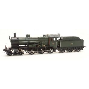 Artitec 22.225.03 - NS 3734 olijfgroen 3-as tender (45-49), LokSound V4.0 DC  train 1:87