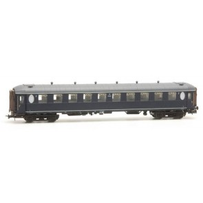 Artitec 20.269.01 - Ovaalramer B 6101, blauw, grijs dak, IIIb-c  train 1:87