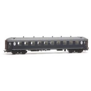 Artitec 20.269.02 - Ovaalramer B 6104, blauw, grijs dak, IIIb-c  train 1:87