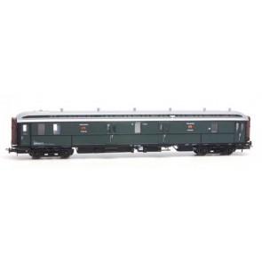 Artitec 20.295.01 - Postwagen  P 7012, groen, zilver dak, IIa-b  train 1:87